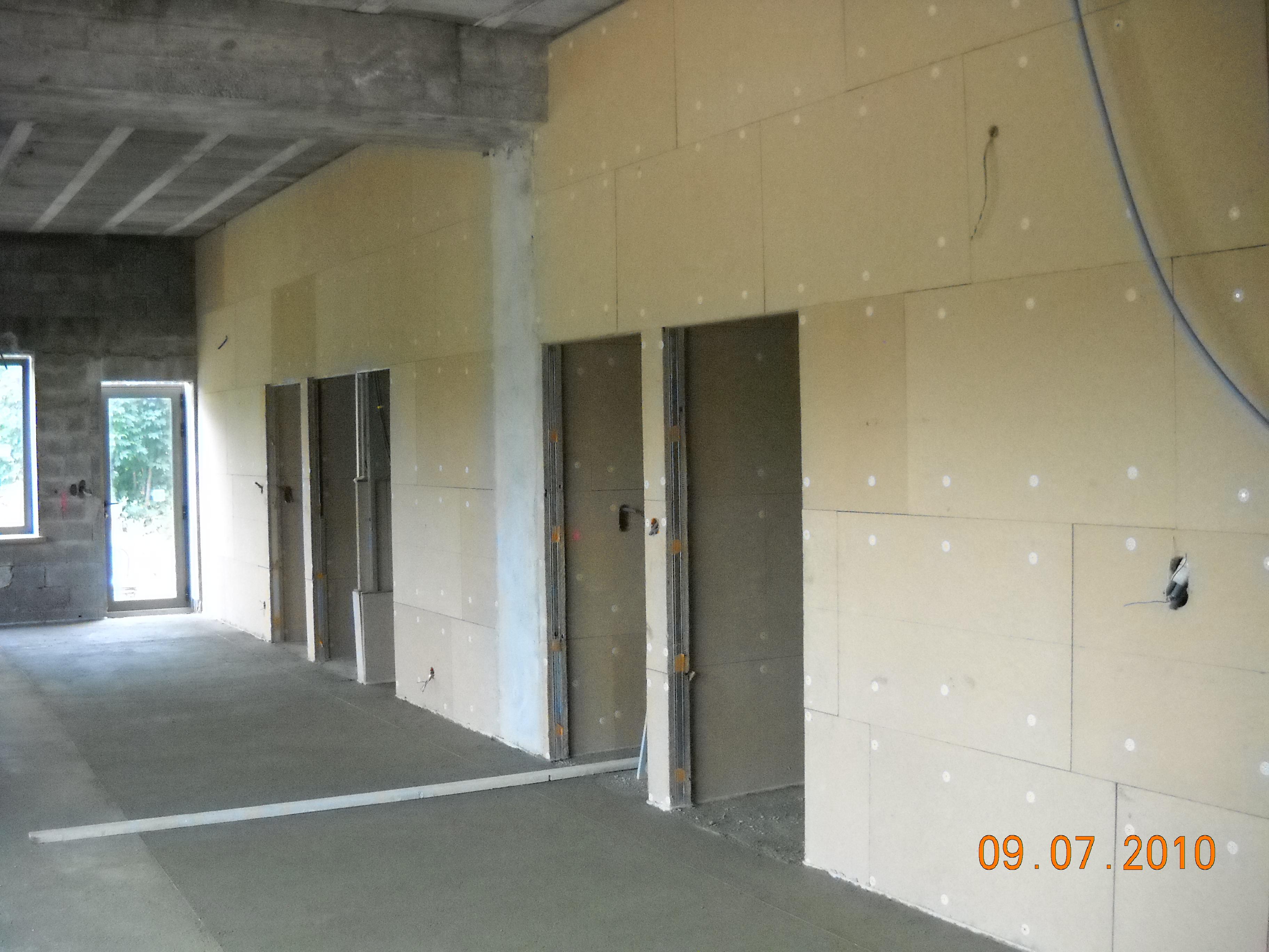 Panneau anti bruit intrieur excellent studio de for Combattre humidite mur interieur